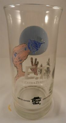 1982 E.T. Extra Terrestrial Phone Home Pizza Hut Glass