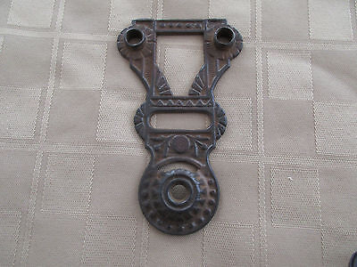 *  Antique Hardware - Eastlake Design - Cast Iron