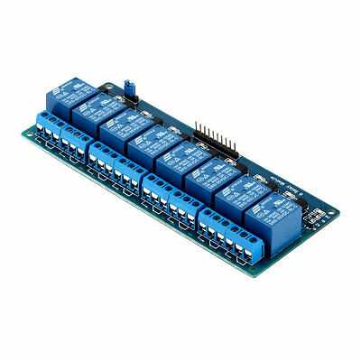 5V Eight 8 Channel Relay Module With Optocoupler For Arduino PIC AVR DSP ARM F5