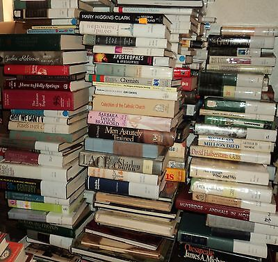 """SALE!! - HUGE """"FICTION & NON-FICTION"""" HARDBACK BOOK COLLECTION - Lot of 25"""