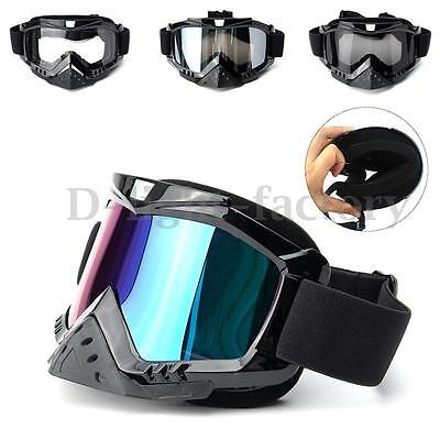 Newest Motorcycle Motocross Goggles Glasses Dirt Bike Riding Off Road Lens