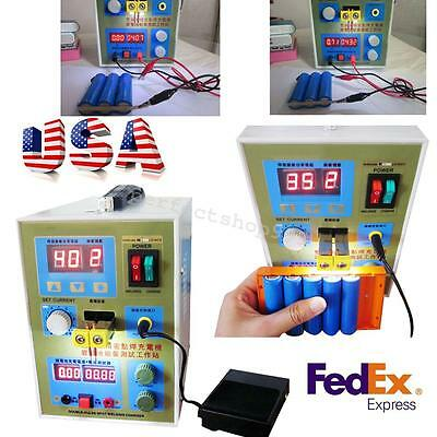 High Quality LED Dual Pulse Spot Welder welding Battery Charger 800A 0.1-0.2mm