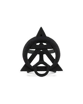 The Rogue + The Wolf Gothic Goth Occult Ring Of Possession Black 3D Jewellery