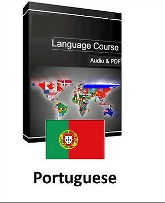 Learn to Speak Portuguese - Teach Yourself Language Course on PC CD