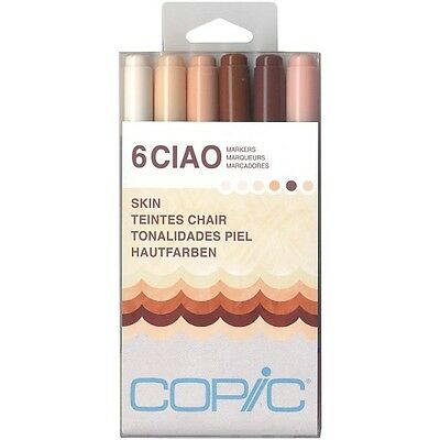 Copic Ciao Marker Set of 6 - Skin Tones