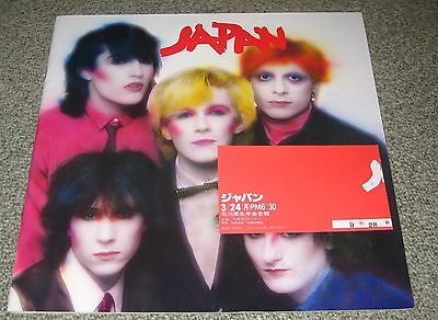 with GIG TICKET STUB! JAPAN Japanese TOUR BOOK concert programme DAVID SYLVIAN