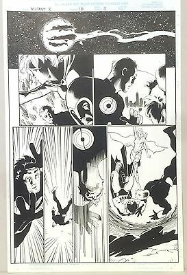 Marvel Comics Mutant X Issue 10 page 11 Cary Nord Original Art