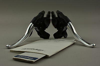NEW NOS Campagnolo Veloce Flat Bar ErgoPower Shifters,Brake Levers,10speed,10s