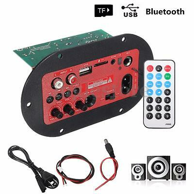 65W Voiture Bluetooth Hi-Fi Audio Basse Amplificateur Board TF USB FM Radio Mic