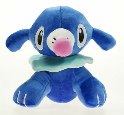 Pokemon Center Popplio Plush Doll Sun Moon Collection Stuffed Animal Toy 7""