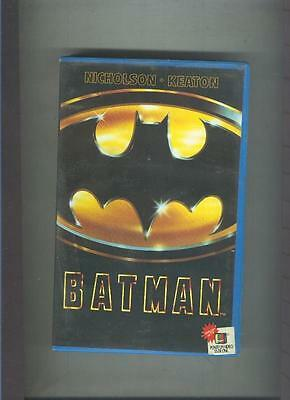 Video VHS: Batman (Jack Nicholson-Michael Keaton)