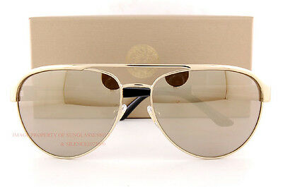 Brand New VERSACE Sunglasses VE 2165 1252/5A Gold/Gold Mirror For Men