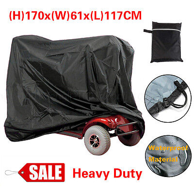 Waterproof Mobility Scooter Storage Cover Heavy Duty Rain Protector Large 170CM