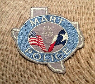 TX Mart Texas Police Patch