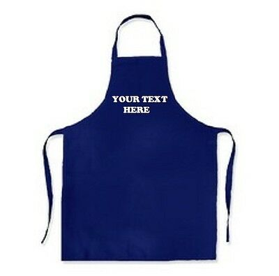 Personalised Apron Adult Catering Kitchen Wear Any Name, Text, Colour Big Sizes