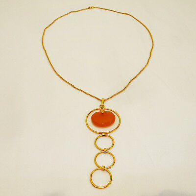 Genuine Baltic Butterscotch Amber Necklace, 12 gr. Very Beautiful Pendant! 114