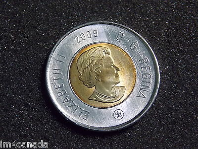 Canada 2009 2 Dollars Toonie MS Uncirculated