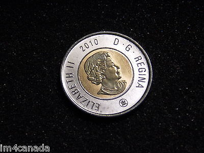 Canada 2010 2 Dollars Toonie MS Uncirculated