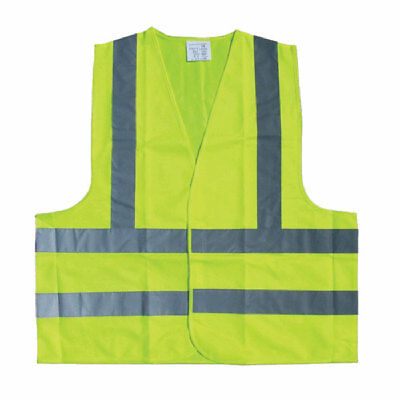 High Vis Safety Vest Emergency Breakdown Size Large Universal - Top Tech