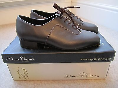 Mens Size 6 Ballroom Shoes in Dark Brown *NEW*