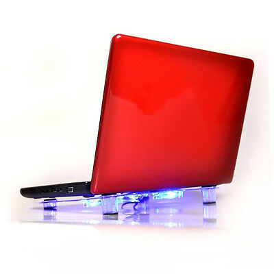USB Notebook Laptop Cooler Cooling Pad Heatsink 3 Fan Cool for Computer PC M1#