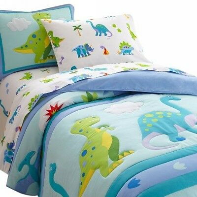 Olive Kids Dinosaur Land Twin Comforter Set by Wildkin - 11412