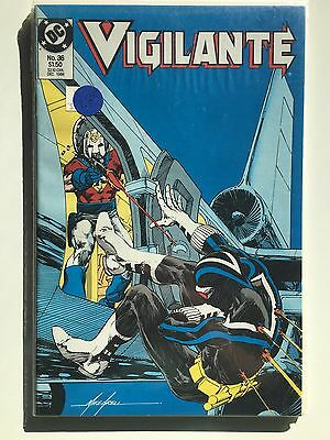 Vigilante #36 (1986 Dc) Nm 1St Series Peacemaker App, Arrow Tv Series Hot!