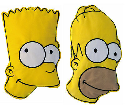 Fashy Homer or Bart Simpson Hot Water Bottle