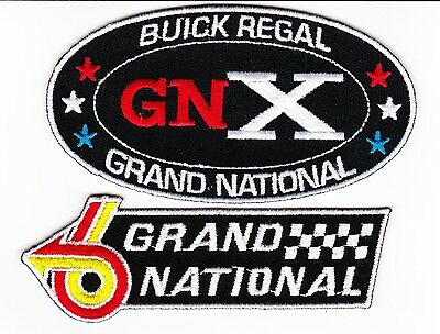 Buick Regal Grand National Sew/iron On Patch Emblem Embroidered