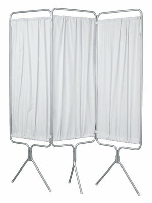 Winco Manufacturing 3 Panel Aluminum Folding Privacy Screen