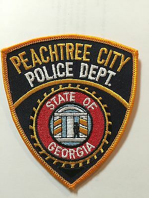 Peachtree City Police Department Patch, State Of Georgia