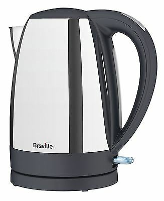 Breville VKJ385 Rapid Fast Boil 3kW Polished Stainless Steel Jug Kettle