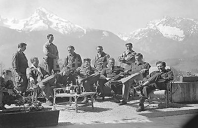 WW2 Picture Photo Dick Winters and Easy Company (Band of Brothers) pictured 774