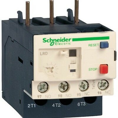 Schneider 3 Pole Thermal Overload Relay Lrd22  Tesys 034684 16-24 Amp