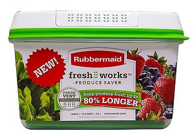 Rubbermaid Fresh Works Produce Saver Food Storage Container - Large 17.3 Cup