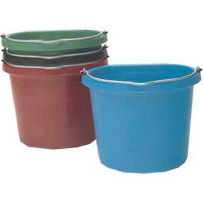 Fortex Industries dos plat seau rouge 20 Quart FB-120R