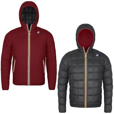 K-Way Jacques Thermo Plus Double 360 € Uomo Kway 2017 Red Scarlet K001K40 927