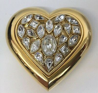 Ysl Powder Face Compact Heart Jewels