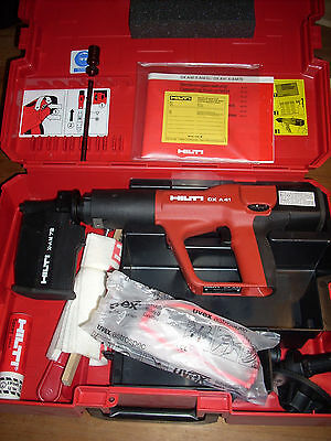 Brand New Hilti DX A41 Powder Actuated Tool w/ accessories