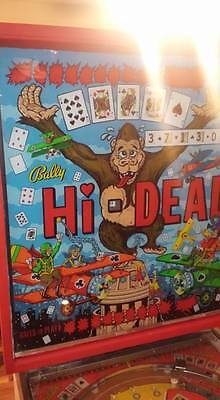 Bally Hi-Deal Pinball Machine 1975 - Work Great!