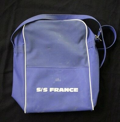 """Vintage CGT FRENCH LINE SS """"France"""" Carry On Bag 2"""