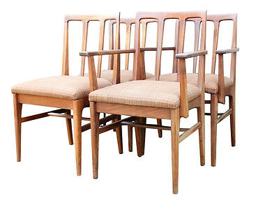 Retro Younger Chairs - English Teak - Danish Stlye Mid Century Mcintosh style