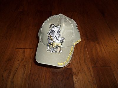 U.s Navy Chief Retired Hat Old Goats Rock Embroidered U.s Military Ball Cap f6fecd46dc3