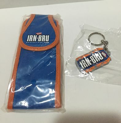 Irn Bru Limited Edition Phone Case & Keyring Collectible New