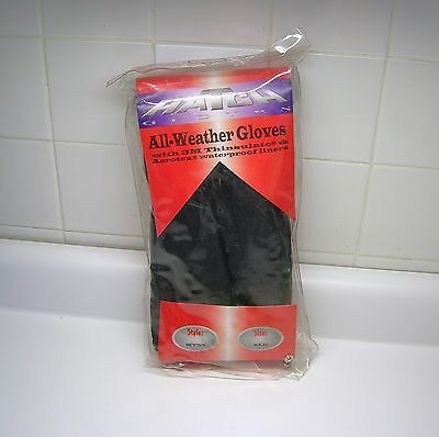 XL HATCH Cold Weather GLOVES size XLG Thinsulate & WaterPROOF Liners MT25 Black