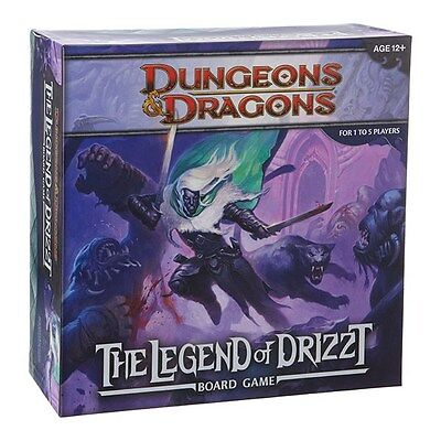 The Legend Of Drizzt  Dungeons & Dragons Board Games New Adventure System