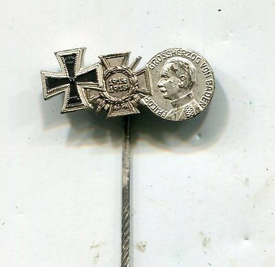 Original WWI German Iron Cross 3 Medals Stickpin No 2