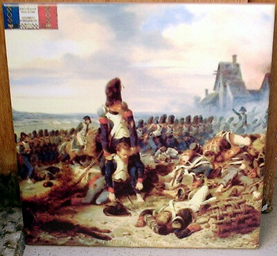 French Old Guard Chasseurs ~Napoleonic Wars~ CERAMIC TILE