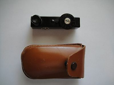 Vintage PHAOSTRON Range Finder made in USA w/ Leather Case