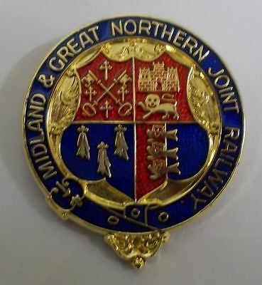 M&GN Joint Railway Lapel Badge